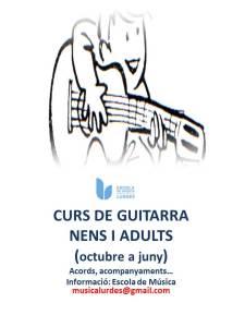 Curs de guitarra
